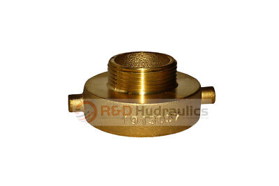 """Fire Hydrant Adapter 2-1/2"""" NST(F) x 1-1/2"""" NST(M)"""