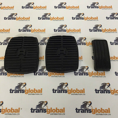 Range Rover Classic Pair of Clutch & Brake Pedal Rubbers & Throttle - Bearmach