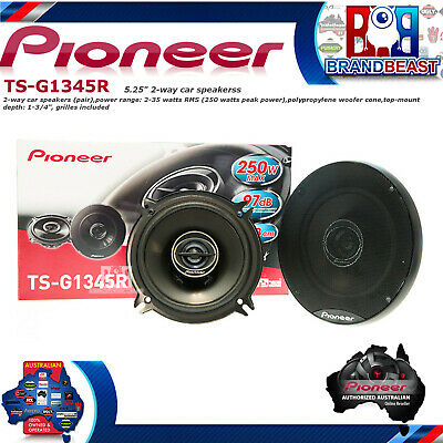 "Pioneer TS-G1345R G Series 240w 5.25"" 2 Way Coax Car Audio Speakers Tsg1345r"