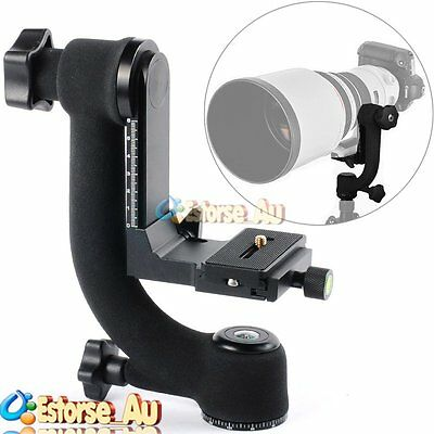 【AU】Pro ST-360 Panoramic 360° Gimbal Tripod Head For DSLR Camera Telephoto Lens