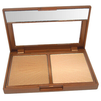 W7 Cosmetics - Hollywood Duo Bronze & Glow Highlighter Bronzing Pressed Powder