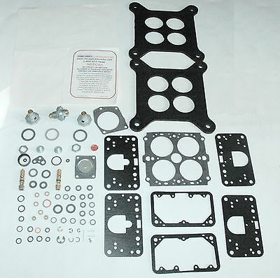 "1966 1969-72 CARB KIT HOLLEY 4 BARREL INTERNATIONAL HARVESTER TRUCK 392/"" ENGINES"