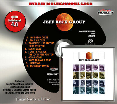 AFZ 219 | Jeff Beck Group - Jeff Beck Group SACD oop