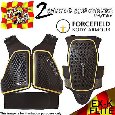 Forcefield Ex-K Harness Flite L2 Back & Chest Protector Body Armour Motorcycle