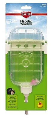 Kaytee Pet Flat-Bac Water Bottle 16oz  Direct from Manufacturer free shipping