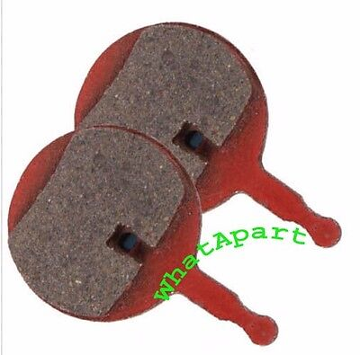 1 Pair Mini Round Solid Metal Bicycle Bike MTB Disc Brake Pads