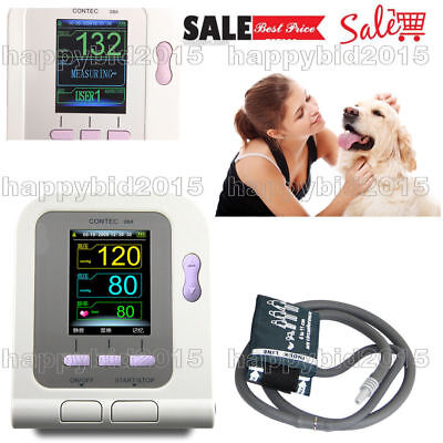 CE FDA Veterinary Color LCD blood pressure monitor Contec08A-VET