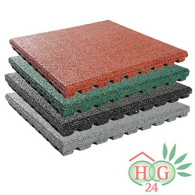 Fall Protection Mats 43mm Rubber Floor Mat Safety Case Plates Tiles