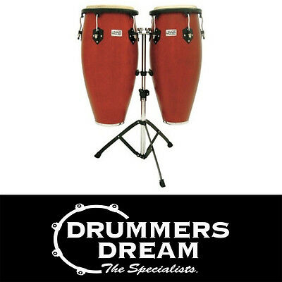 "Toca Players series Pro size conga set Cherry Finish 11"" , 11 3/4"" TOC2801CBS"