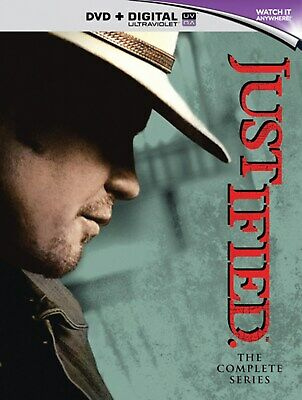 Justified: The Complete Series (with UltraViolet Copy) [DVD]