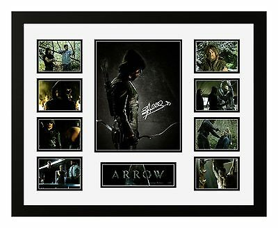 Arrow Stephen Amell Signed Limited Edition Framed Memorabilia