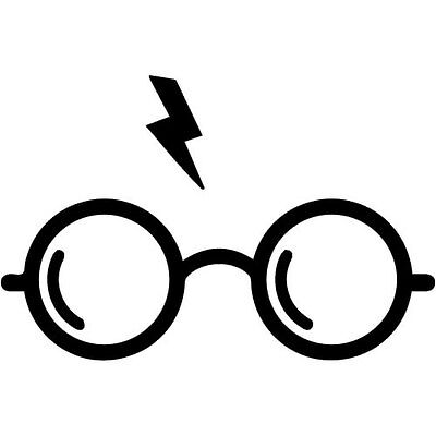 Harry Potter's glasses Decal for Car/Boat/Truck/Trailer/Laptop