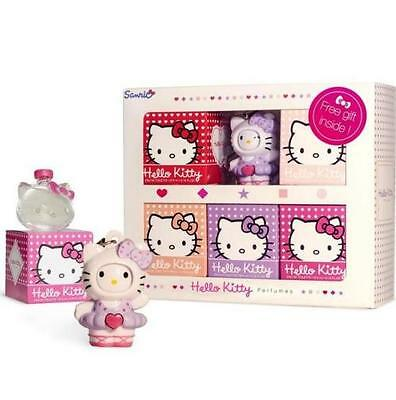 Coffret 5 miniatures eau de toilette et figurine Hello Kitty 5 x 5ml