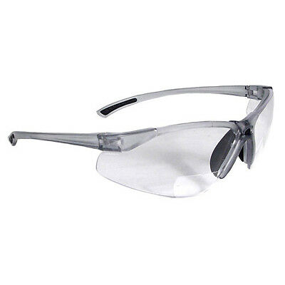 Clear Lens Safety Bi-Focal Glasses - 1.5 Diopter - Radians C2-115
