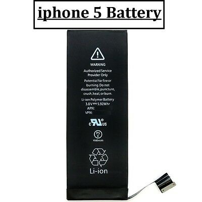 REPLACEMENT LI-ION HIGH CAPACITY BATTERY For APPLE iPHONE 5 5G 1440mah+ TOOLS