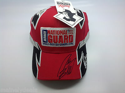New w/tags Nascar Army National Guard Greg Biffle 16 Signed Autographed Hat