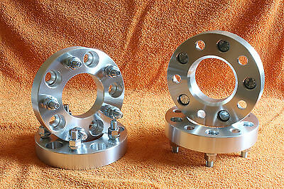 4 Distanziali Wheel Spacers 30 38 50mm 5x127 5x5 Fiat Freemont - Lancia Voyager