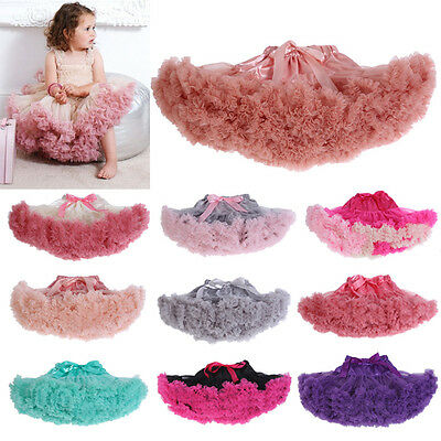 Baby Toddler Infant Tulle Chiffon Tutu Pettiskirt PHOTOGRAPHY Party Skirt Prop