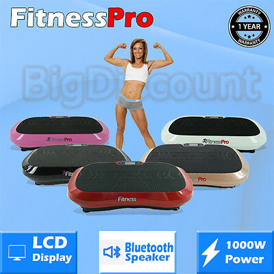 Vibration Platform Machine High Power Ultra Trainer Fit Body Plate Exercise Body