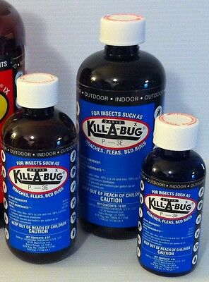Kill-A-Bug 36.8% permethrin Indoor concentrate for bedbugs, roaches, fleas bugs