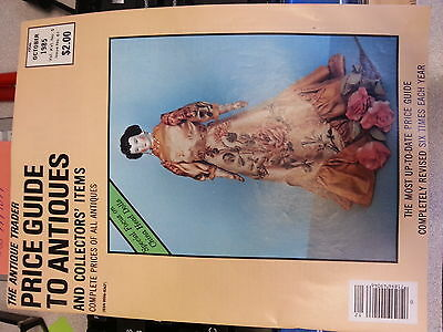 The Antique Trader Price Guide To Antiques Magazine October 1985 Issue
