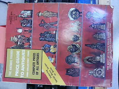 The Antique Trader Price Guide To Antiques Magazine Summer 1974 Issue