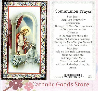 Girl First Communion - Gold Trim  Paperstock