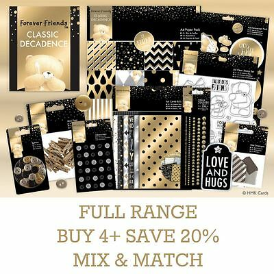 FOREVER FRIENDS CLASSIC DECADENCE Docrafts Paper Craft Collection Full Range