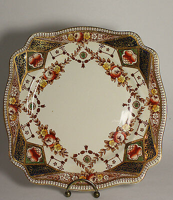 Vintage Royal Staffordshire Victorian Edwardian Stafford  Pattern Dinner Plate