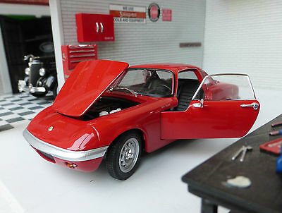 G LGB 1:24 Scale Model 1965 Lotus Elan Diecast Detailed Model WEL 24035R Welly