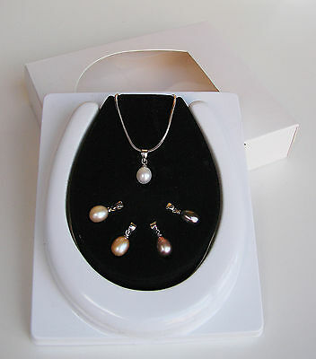 Modernist - Collana Perle Nr. 5 Intercambiabili -Pearls Necklace Interchangeable