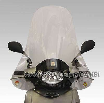 E118+A220 E118 + Isolde A220 Kit Windshield Honda Sh 125-150 Ie   From 2005 To 2
