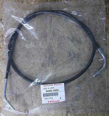 Kawasaki W650 A model closing throttle cable.