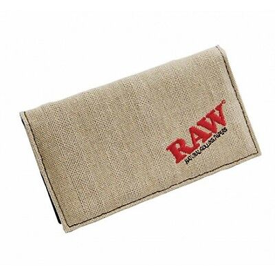RAW Smokers Kingsize Hemp Wallet - Tobacco Pouch - 1st Class Fast & Fre