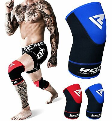 RDX Knee Pads Crashproof MMA Wrap Support Sports Protector Work Braces Sleeves