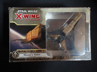 Hound's Tooth Expansion Pack for X-wing by Fantasy Flight Games 2015 mint