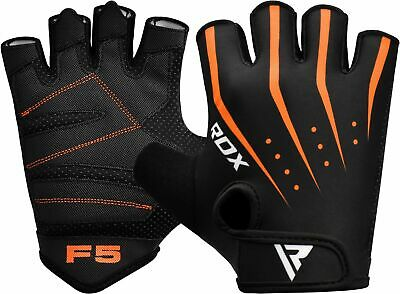 RDX NYLON DOT-MAPPED Rubberized Grip Weight Lifting Gloves Gym Fitness