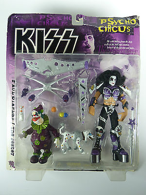"""Mc Farlane KISS Psycho Circus Paul Stanley """"The Jester"""" - MOSC - NOS"""