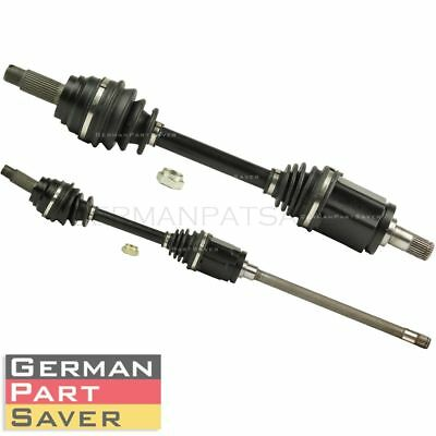 PAIR ( Front L+R ) CV Axle Drive Shaft Assembly fits BMW X5 X6 31607545125