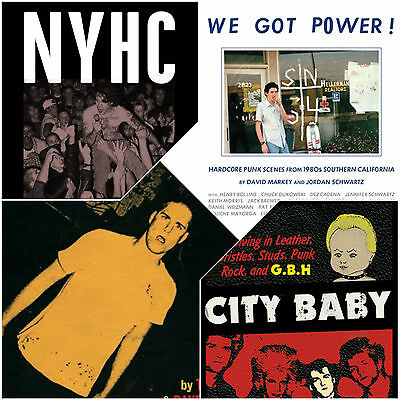THE CORE COLLECTION: Touch and Go/We Got Power!/NYHC/GBH Book Set *Hardcore Punk