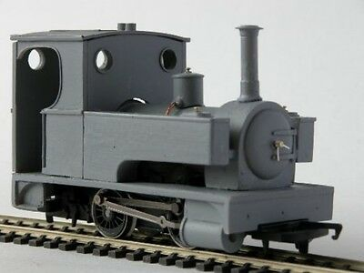 7mm 'IRIS' Side/Pannier tank Locomotive body kit - Smallbrook studio - free post