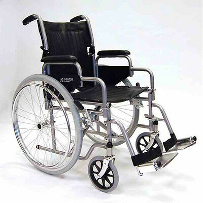 Roma RMA 1000 Standard Steel folding Self Propel Wheelchair