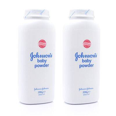 Johnsons Baby Powder 200g x2