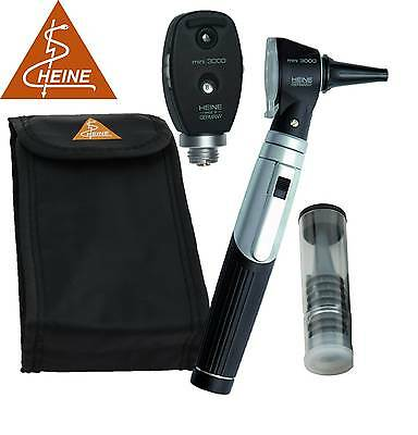 Heine Mini 3000 Combined Ophthal - Otoscope Diagnostic Set - 1 Handle