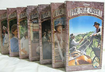 NEW Walt Disney Five Mile Creek Western Australia VHS Tape Vol 6  9 10