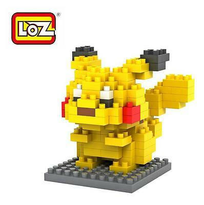 New Pokermon - Pikachu Mini Lego Puzzle Diamond Block Fun Gift 9136