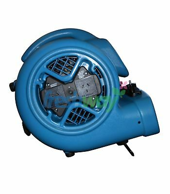 XPOWER X-600AC 520 Watts 3/4 HP 2.2 Amp 2400 CFM 3-Speed Air Mover Dryer Blower