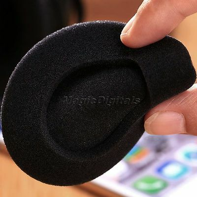 5 Pairs 75mm Replacement Ear Foam Pads Sponge HeadPhone Cushion Earbud Cover