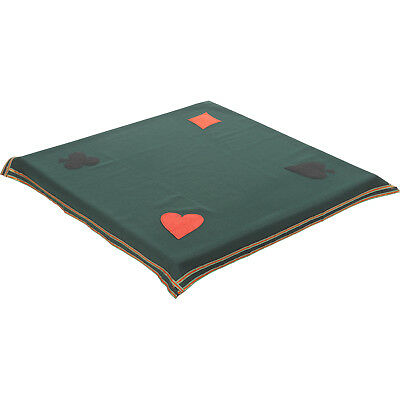 Bridge Poker Card Game Tablecloth Casino Gaming Night Baize Table Cover