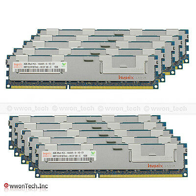 Hynix 64GB 16x4GB PC3-10600R 2Rx4 DDR3 1333Mhz ECC REG Registered Server Memory